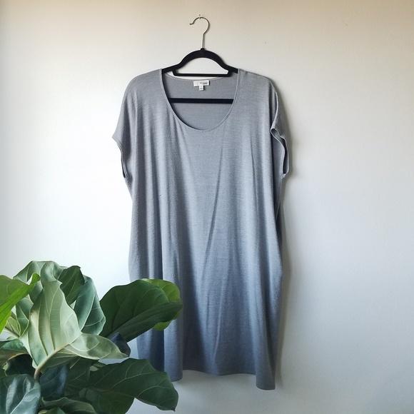 Aritzia Dresses & Skirts - Aritzia Wilfred Free LORELEI DRESS - Dark Comet